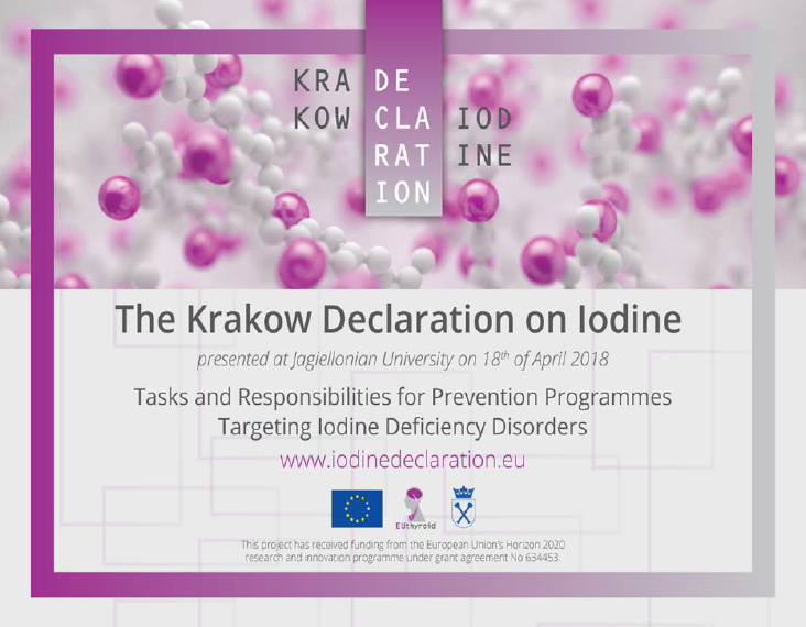 Krakow Declaration on Iodine 2018